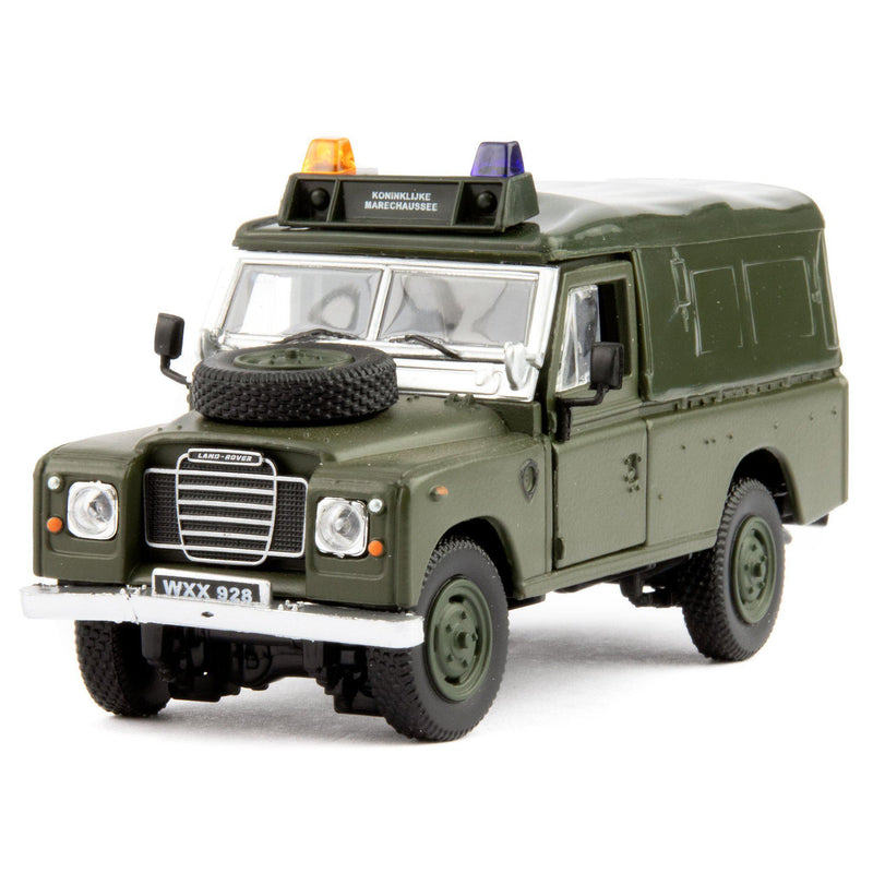 Land Rover Defender Series 3 109 Diecast Model Car green - 1:43 Scale-Cararama-Diecast Model Centre