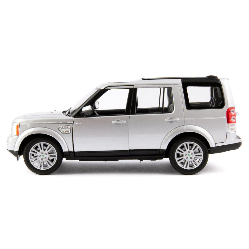 Land Rover Discovery 4 Diecast Model Car silver - 1:24 Scale-Welly-Diecast Model Centre