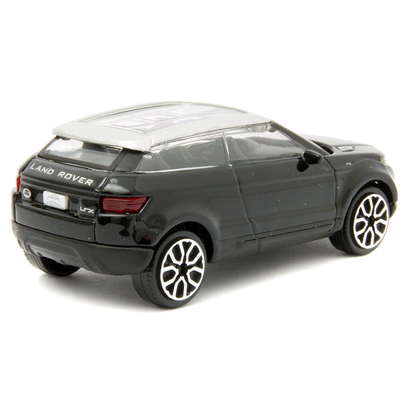 Land Rover LRX Concept (Evoque) Diecast Toy Car black - 1:43 Scale-Bburago-Diecast Model Centre