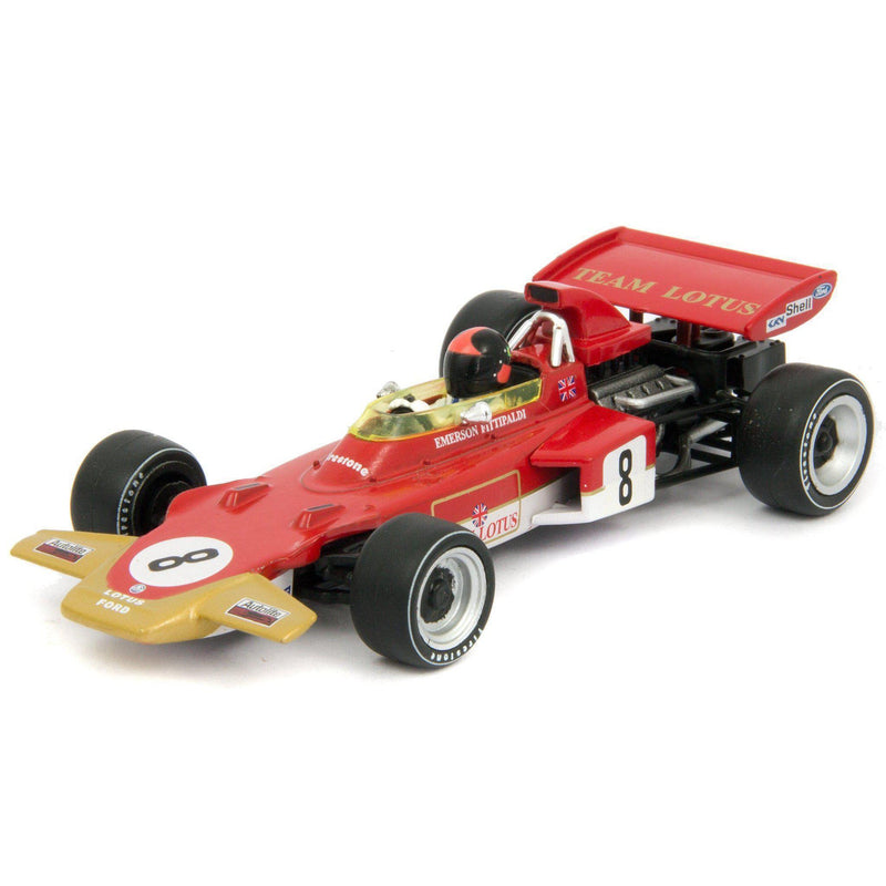 Lotus 72D Diecast Model Car F1 Germany 1971 Fittipaldi - 1:43 Scale-Atlas Editions-Diecast Model Centre