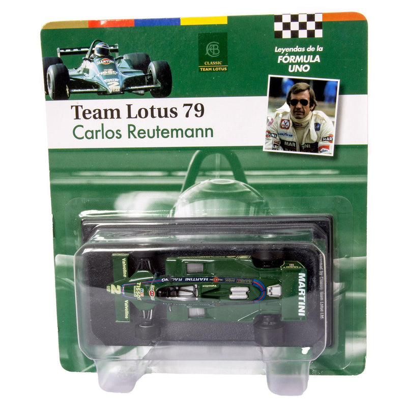 Lotus 79 Diecast Model Car F1 1979 Reutemann - 1:43 Scale-Unbranded-Diecast Model Centre