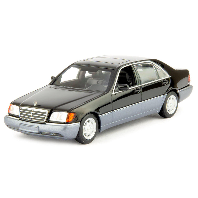 Mercedes-Benz 600 SEL Diecast Model Car 1992 black - 1:43 Scale-Maxichamps-Diecast Model Centre