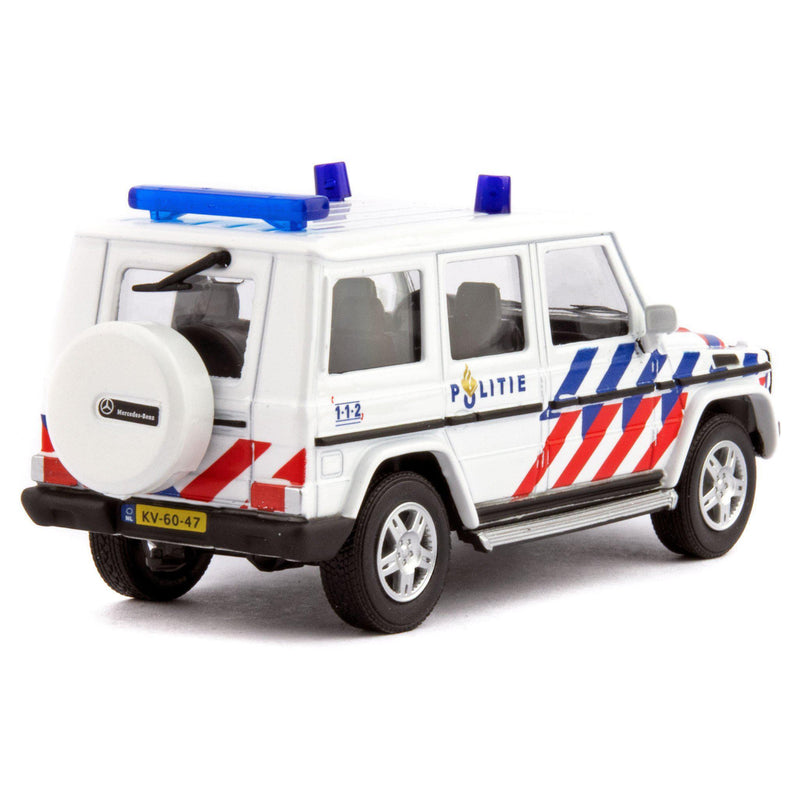Mercedes-Benz G-Class Diecast Model Car Politie - 1:43 Scale-Cararama-Diecast Model Centre