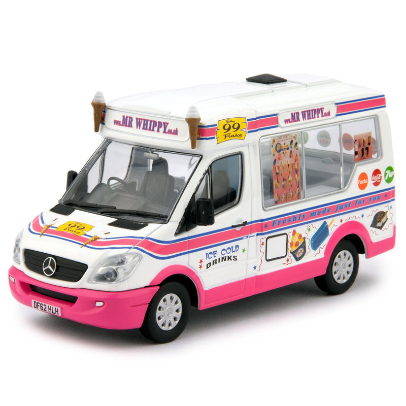 Mercedes Sprinter Whitby Mondial Diecast Model Ice Cream Van Mr Whippy - 1:43 Scale-Oxford Diecast-Diecast Model Centre