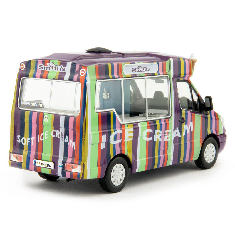 Mercedes Sprinter Whitby Mondial Diecast Model Ice Cream Van Smith's - 1:43 Scale-Oxford Diecast-Diecast Model Centre