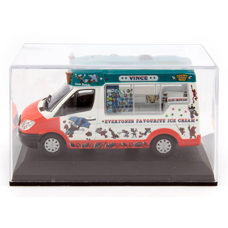 Mercedes Sprinter Whitby Mondial Diecast Model Ice Cream Van Vince - 1:43 Scale-Oxford Diecast-Diecast Model Centre