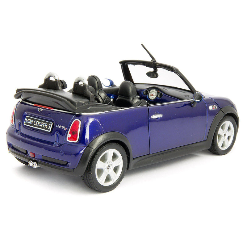MINI Cooper S Cabrio Diecast Model Car - 1:24 Scale-Welly-Diecast Model Centre