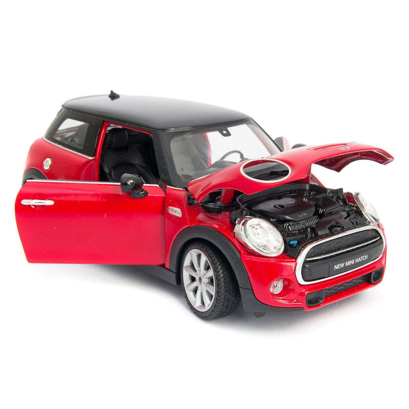 MINI Cooper S Diecast Model Car - 1:24 Scale-Welly-Diecast Model Centre