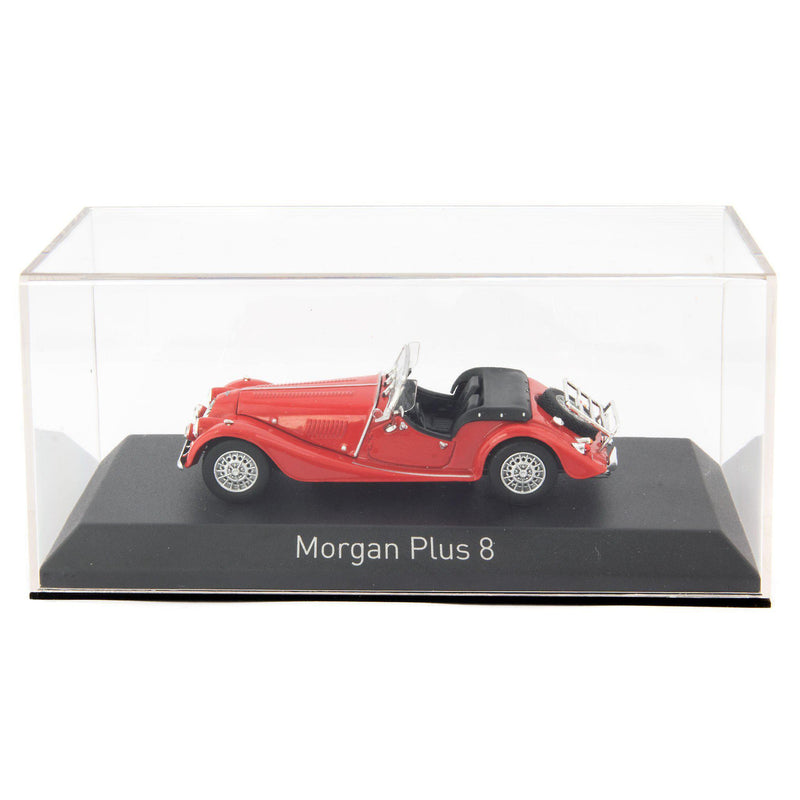 Morgan Plus 8 Diecast Model Car 1980 red - 1:43 Scale-Norev-Diecast Model Centre