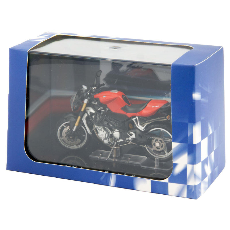 MV Agusta Brutale S Diecast Model Motorcycle red - 1:24 Scale-Atlas Editions-Diecast Model Centre