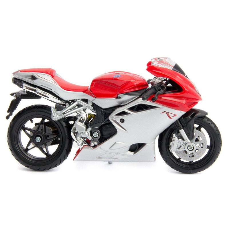 MV Agusta F4 Diecast Model Motorcycle - 1:18 Scale-Bburago-Diecast Model Centre