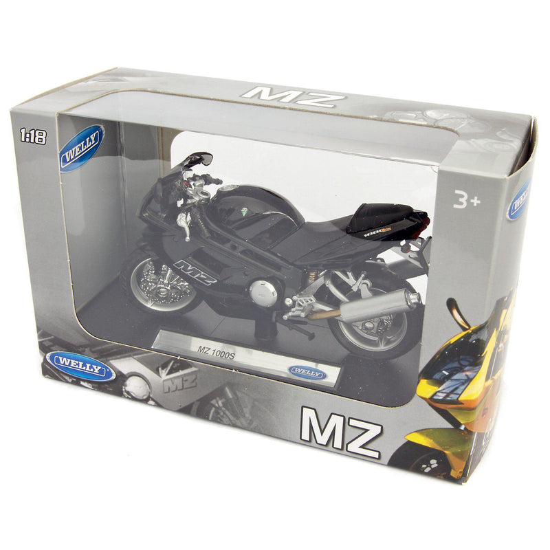 MZ 1000S Diecast Model Motorcycle - 1:18 Scale-Welly-Diecast Model Centre