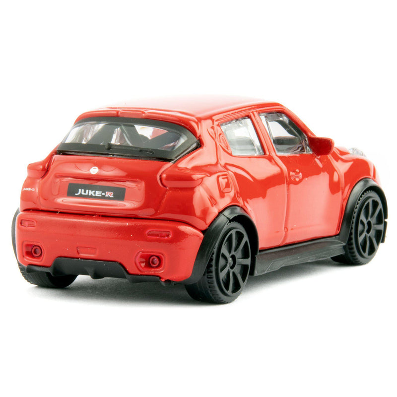 Nissan Juke R Diecast Toy Car red - 1:43 Scale-Bburago-Diecast Model Centre