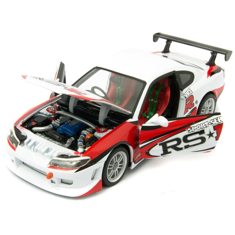 Nissan Silvia S-15 RS-R Diecast Model Car - 1:24 Scale-Welly-Diecast Model Centre