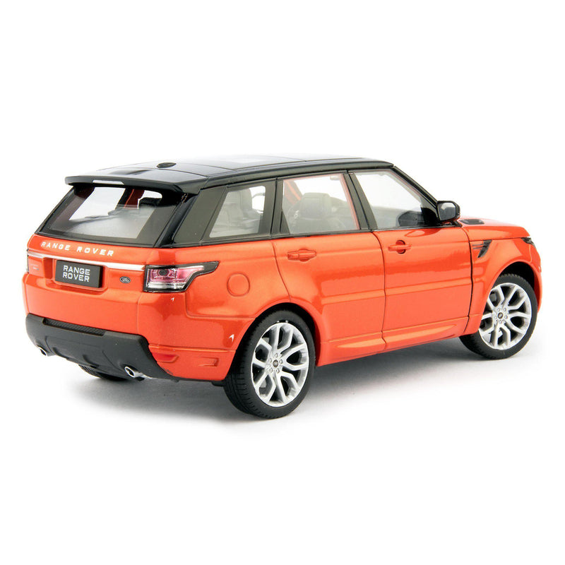 Range Rover Sport Diecast Model Car Chili Red - 1:24 Scale-Welly-Diecast Model Centre