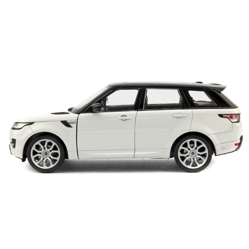 Range Rover Sport Diecast Model Car white - 1:24 Scale-Welly-Diecast Model Centre