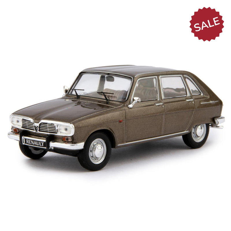 Renault 16 Diecast Model Car 1969 brown - 1:43 Scale-IXO-Diecast Model Centre