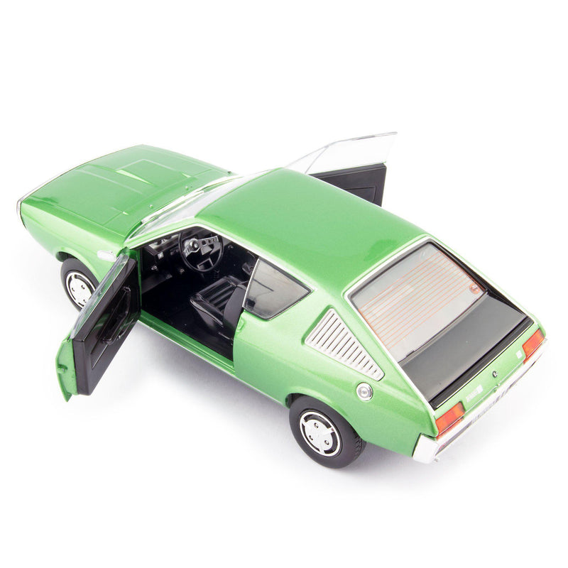Renault 17 Diecast Model Car 1976 Mk1 green - 1:18 Scale-Solido-Diecast Model Centre