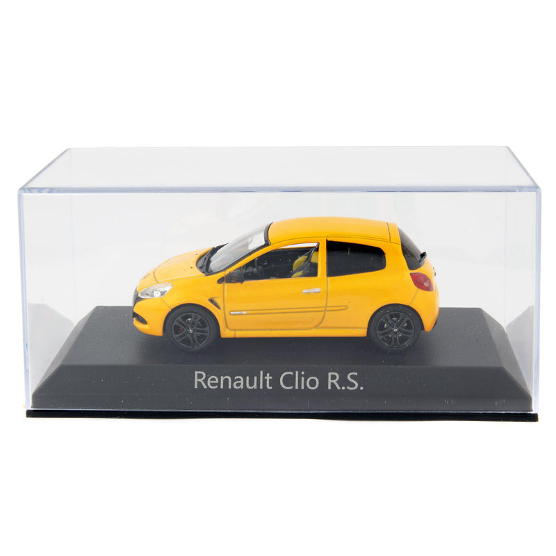 Renault Clio R.S. Diecast Model Car 2009 yellow - 1:43 Scale-Norev-Diecast Model Centre