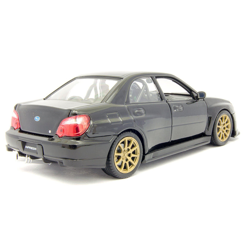 Subaru Impreza WRX STI Diecast Model Car 2010 - 1:24 Scale-Welly-Diecast Model Centre