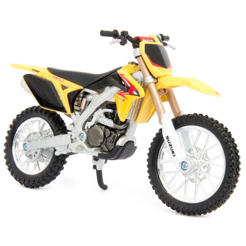 Suzuki RM-Z450 Diecast Model Motorcycle - 1:18 Scale-Bburago-Diecast Model Centre