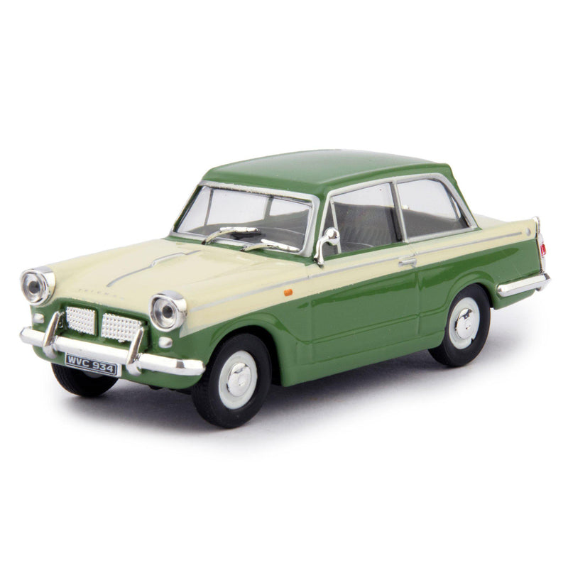 Triumph Herald 1200 Diecast Model Car green - 1:43 Scale-Cararama-Diecast Model Centre