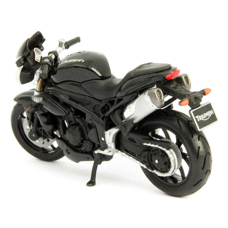 Triumph Speed Triple Diecast Model Motorcycle 2011 - 1:18 Scale-Bburago-Diecast Model Centre
