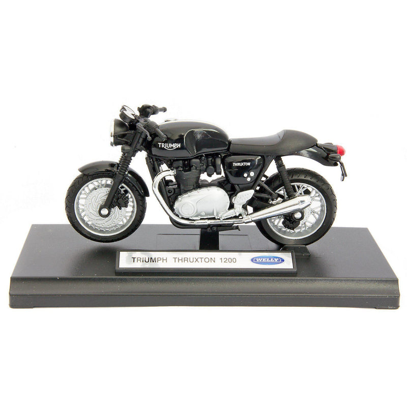Triumph Thruxton 1200 Diecast Model Motorcycle - 1:18 Scale-Welly-Diecast Model Centre
