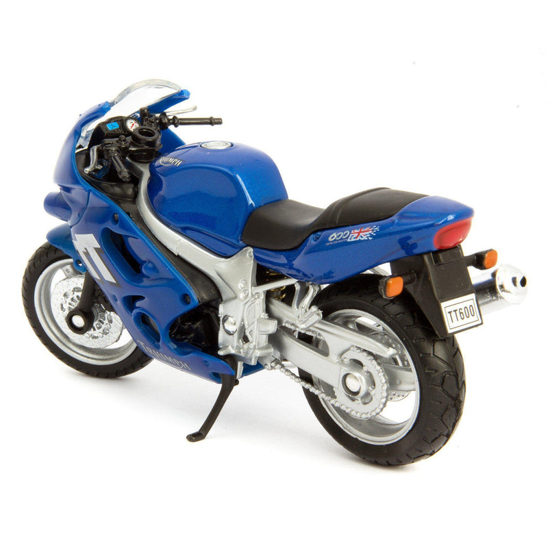 Triumph TT600 Diecast Model Motorcycle 2002 - 1:18 Scale-Welly-Diecast Model Centre