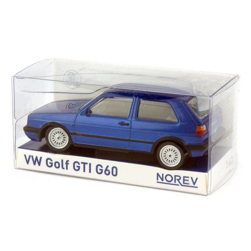 Volkswagen Golf GTi G60 Diecast Model Car 1990 blue - 1:43 Scale-Norev-Diecast Model Centre