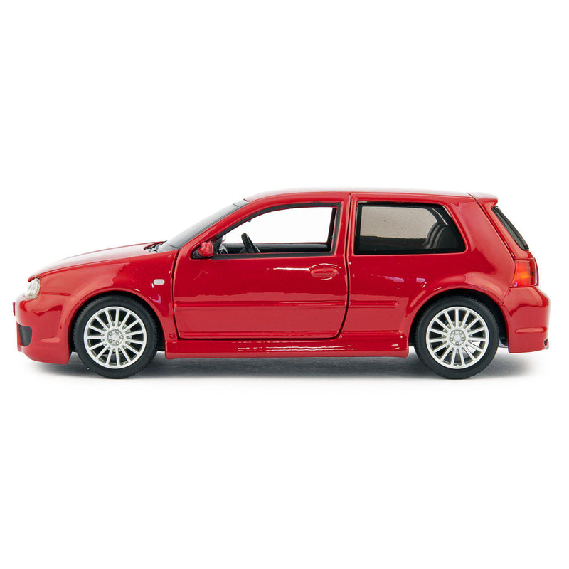 Volkswagen Golf R32 Diecast Model Car red - 1:24 Scale-Maisto-Diecast Model Centre