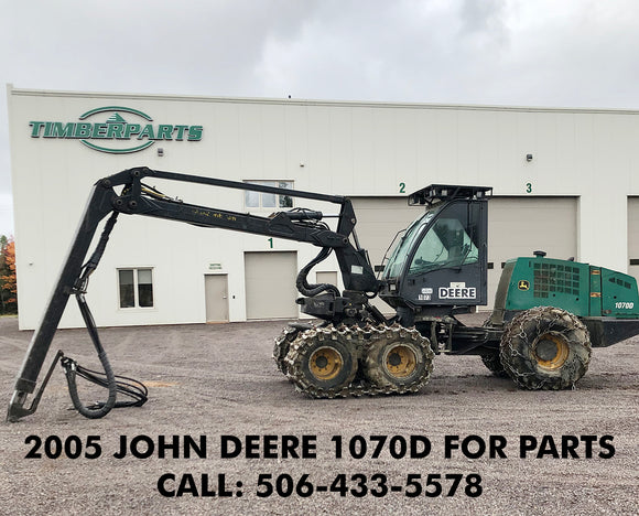 USED PARTS| SPARE PARTS| JOHN DEERE 1070D| Timberparts
