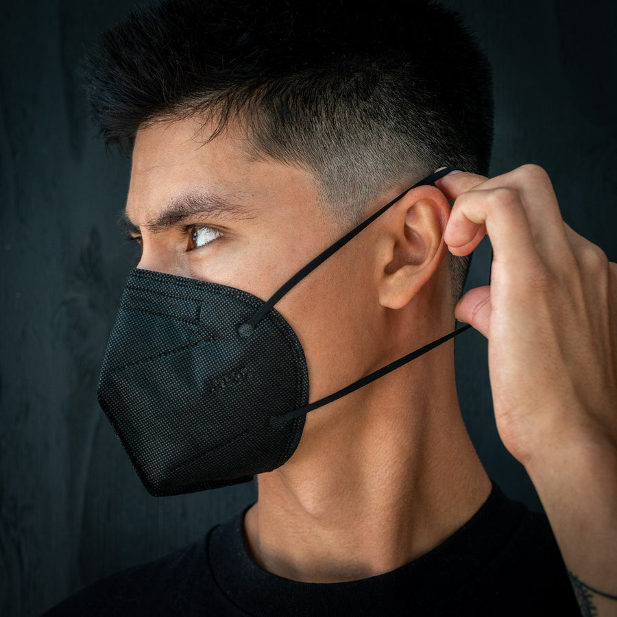EVADE Black KN95 Mask (5 pack) BACK IN STOCK SOON