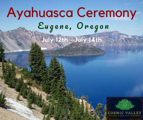 US Ayahuasca Ceremony July 12th - July 14th ($350 Full Donation)