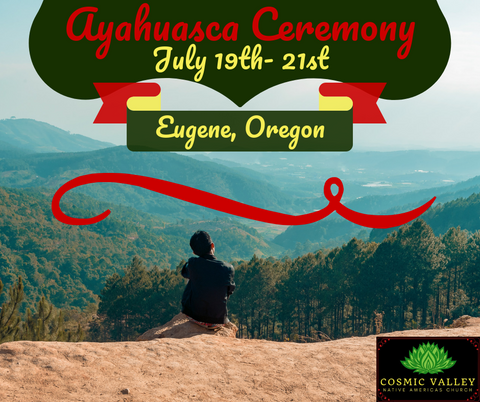 US Ayahuasca Ceremony July 19th - July 21st ($400 Full Donation)