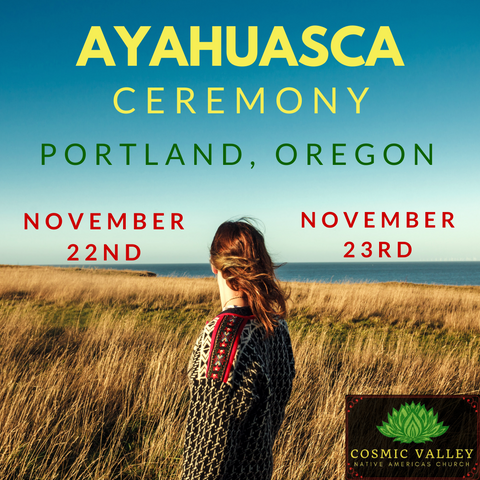 Portland, OR: US Ayahuasca Ceremony November 22nd-24th