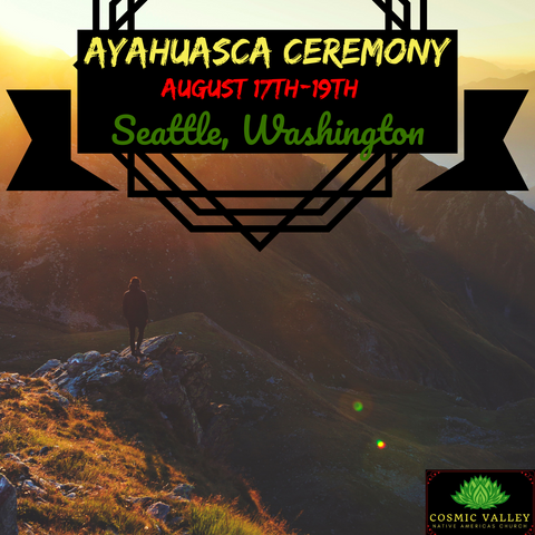 Seattle, WA: US Ayahuasca Ceremony August 17th-19th 2020