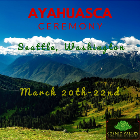 Seattle, WA: US Ayahuasca Ceremony March 20th-22nd