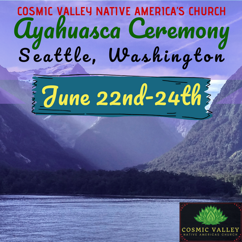 Seattle, WA: US Ayahuasca Ceremony June 22nd-24th 2020 (FULL)