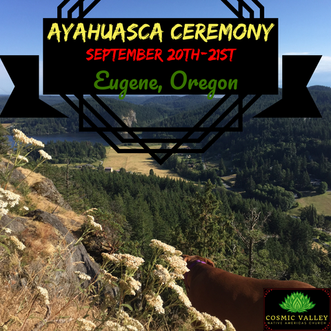 Oregon, US: Ayahuasca Ceremony September 20th-21st ($499 Full Donation) (SOLD OUT)