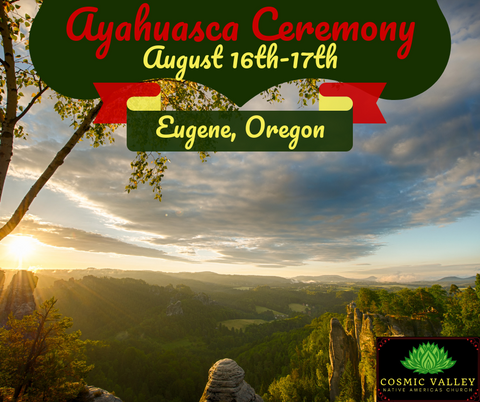 US Ayahuasca Ceremony August 16th-18th ($350 Full Donation)