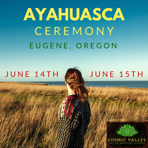 US Ayahuasca Indoor Ceremony (June 14th-June 16th)