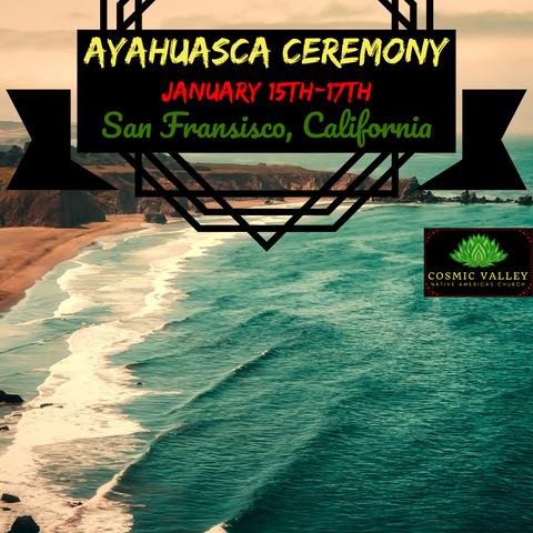 (FULL) San Francisco, CA: US Indoor Ayahuasca Ceremony January 15th-17th 2021
