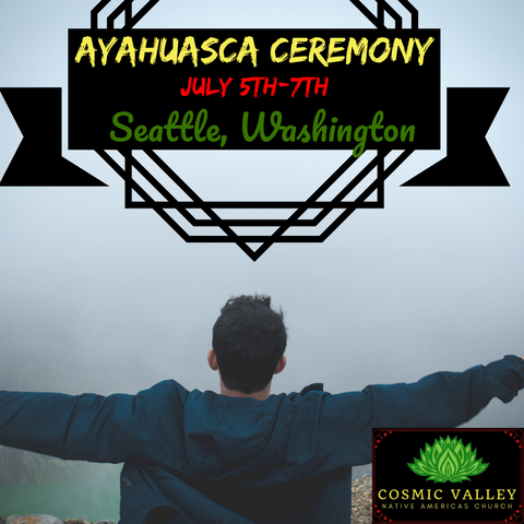 US Ayahuasca Ceremony July 5th-7th ($400 Full Donation)