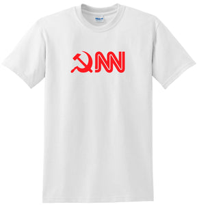 CNN T-shirt Funny Anti Liberal Anti CNN tee