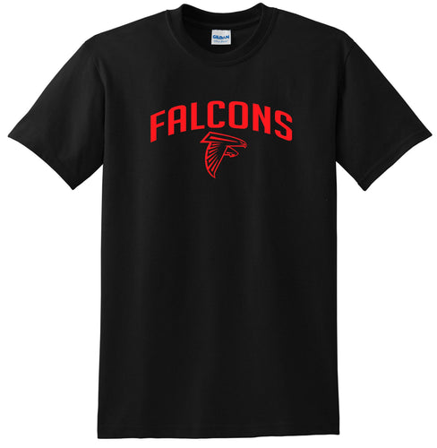 Atlanta Falcons T-shirt Red logo Tee