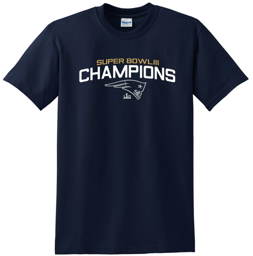 Super Bowl 53 Championship tee for Patriots