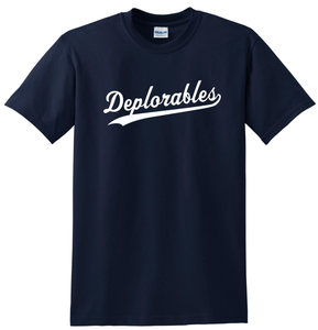 Deplorables T-shirt Trump Support Tee Anti Hillary Shirt