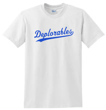 Load image into Gallery viewer, Deplorables T-shirt Trump Support Tee Anti Hillary Shirt