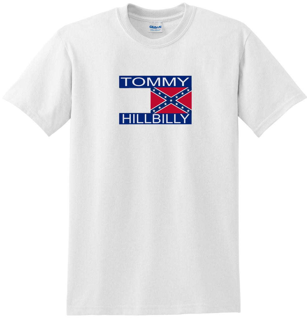 Tommy HIllbilly T-shirt Funny Tee
